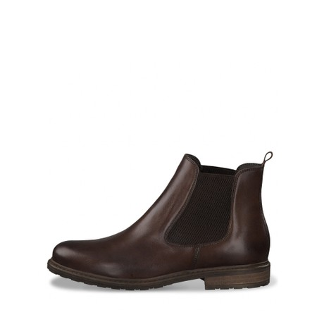 Tamaris  Belin Leather Chelsea Boot - Brown