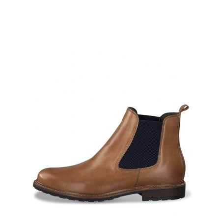 Tamaris Belin Leather Chelsea Boot - Brown