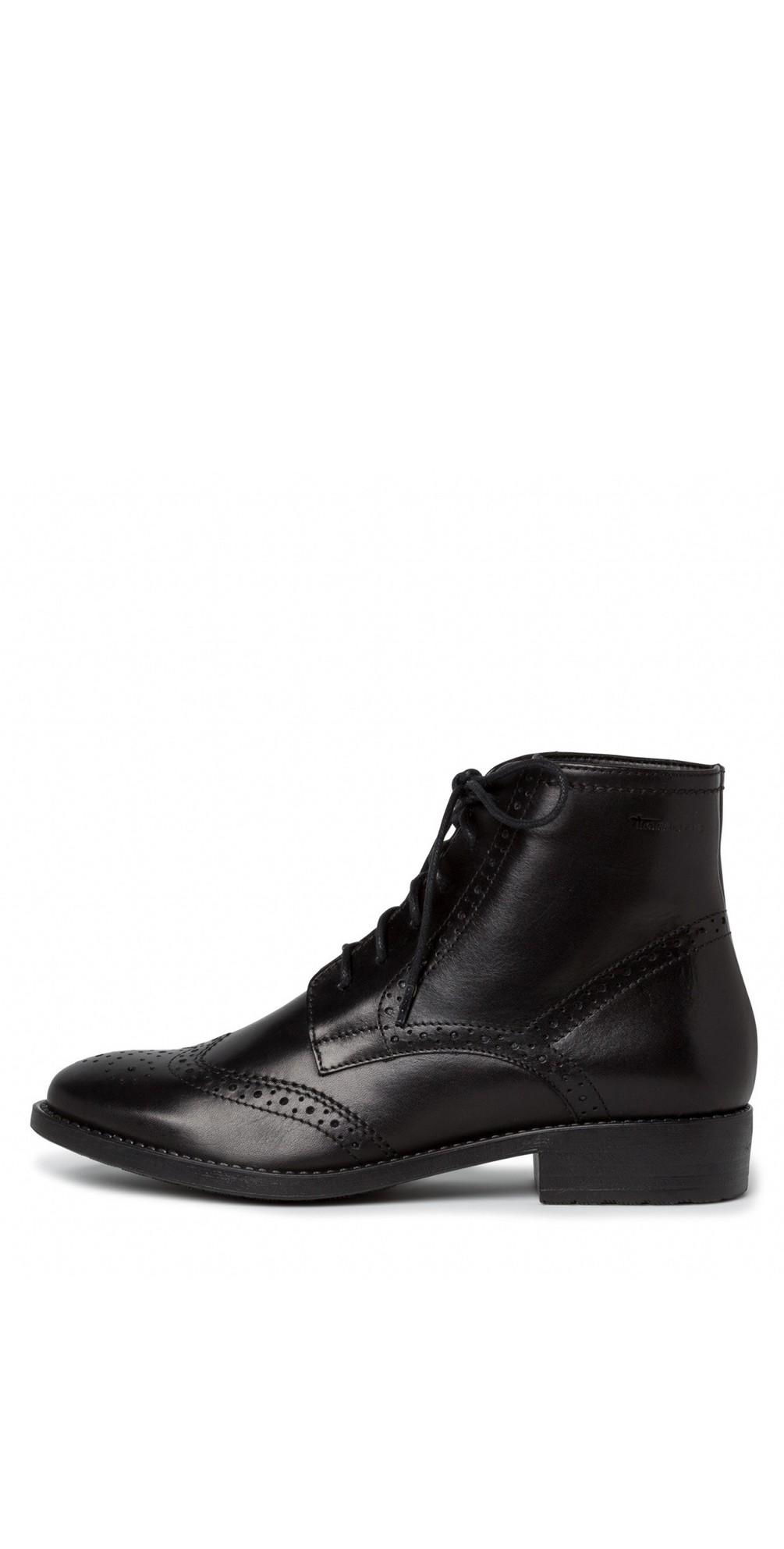 Taina Lace Front Ankle Boot main image