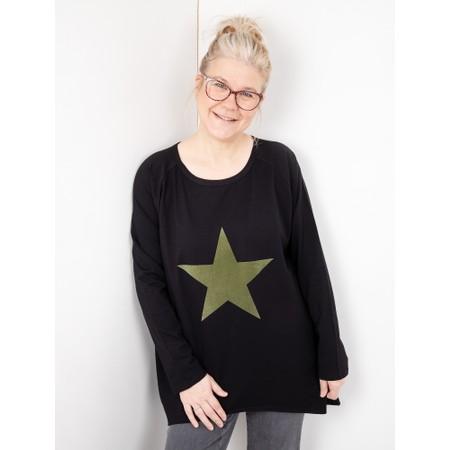 Chalk Gemini Exclusive ! Robyn Star Top - Black