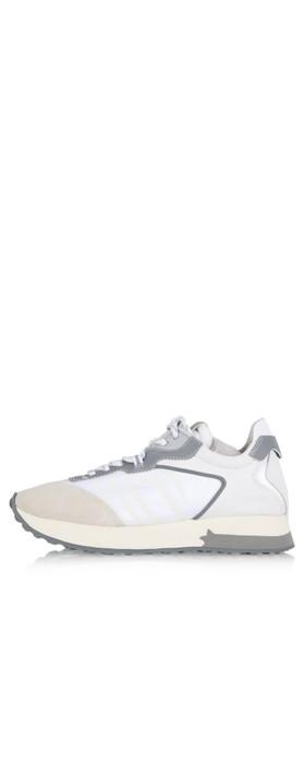 Ash Tiger Trainer Shoe White
