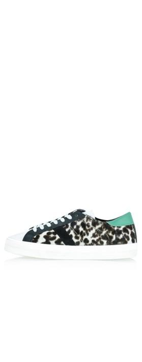 D.A.T.E Hill Animal leopard Trainer Shoe Leopard