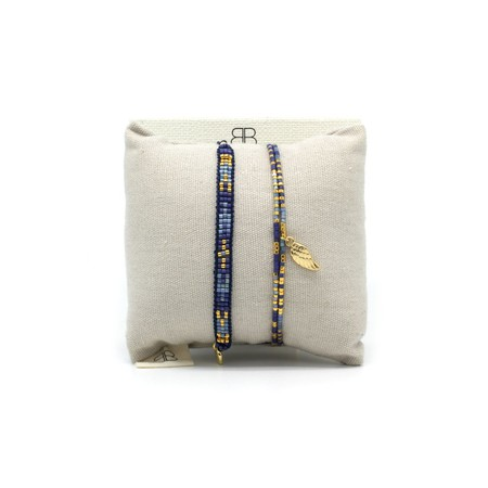 Boho Betty Verona Two Layer Bracelet Stack  - Multicoloured