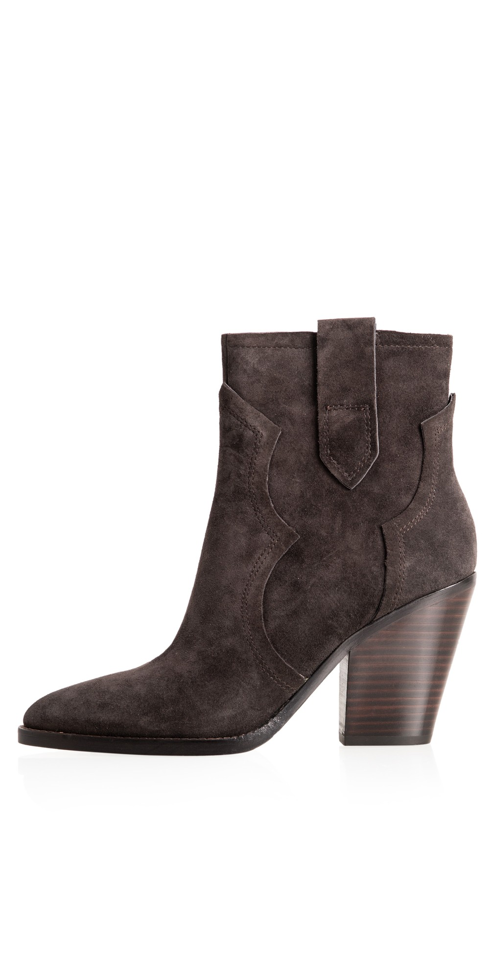 Esquire Heeled Suede Boots  main image