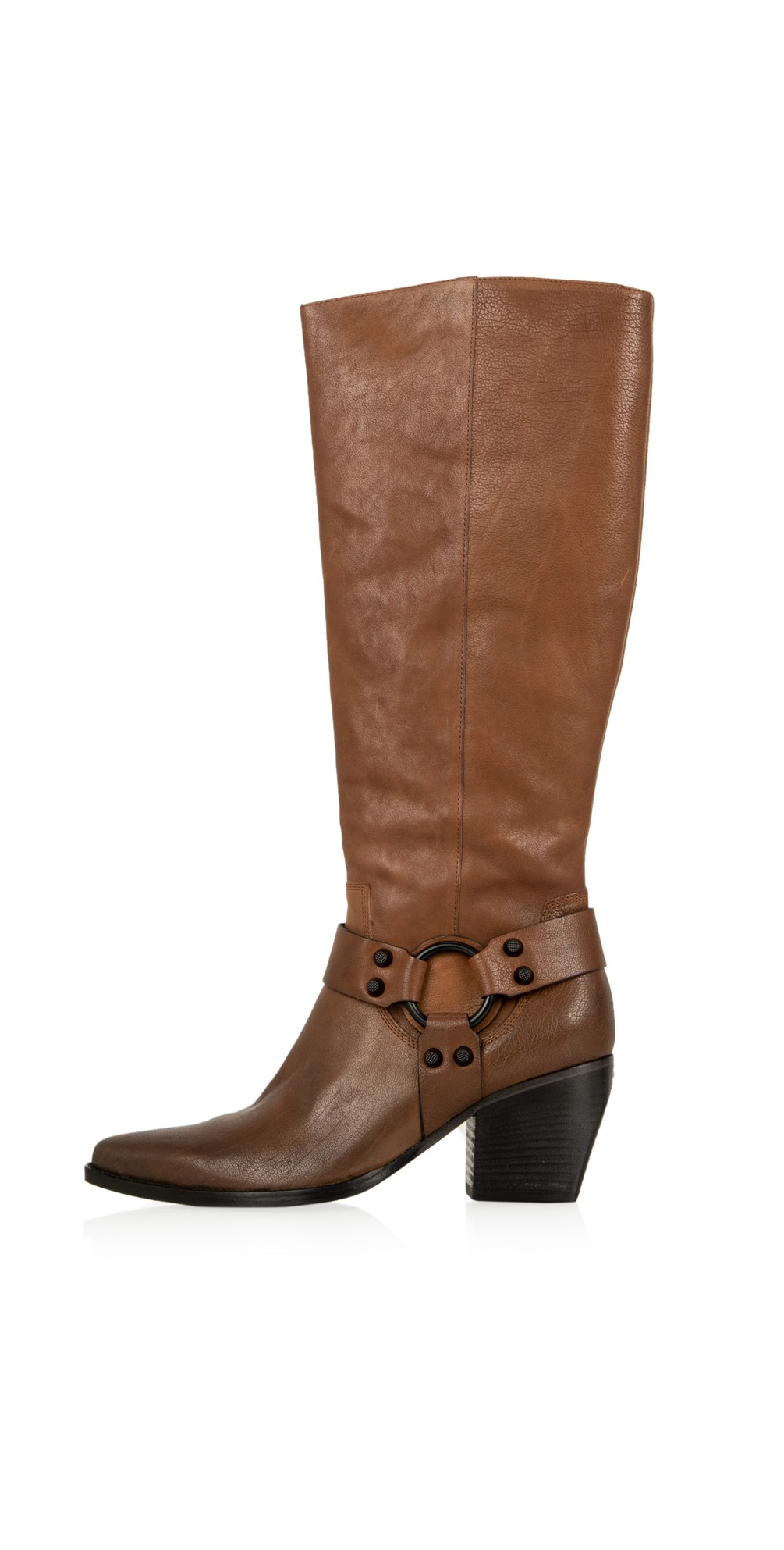Luna Long Western Boot - Premium Collection main image