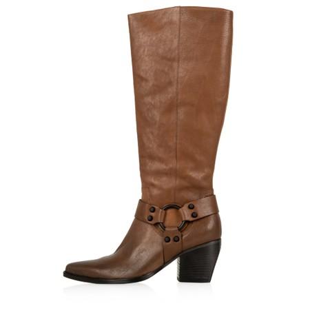 Kennel Und Schmenger Luna Long Western Boot - Premium Collection - Brown