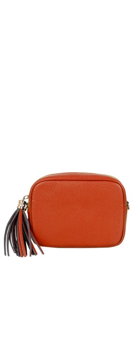 Gemini Label Bags Connie Cross Body Bag Burnt Orange