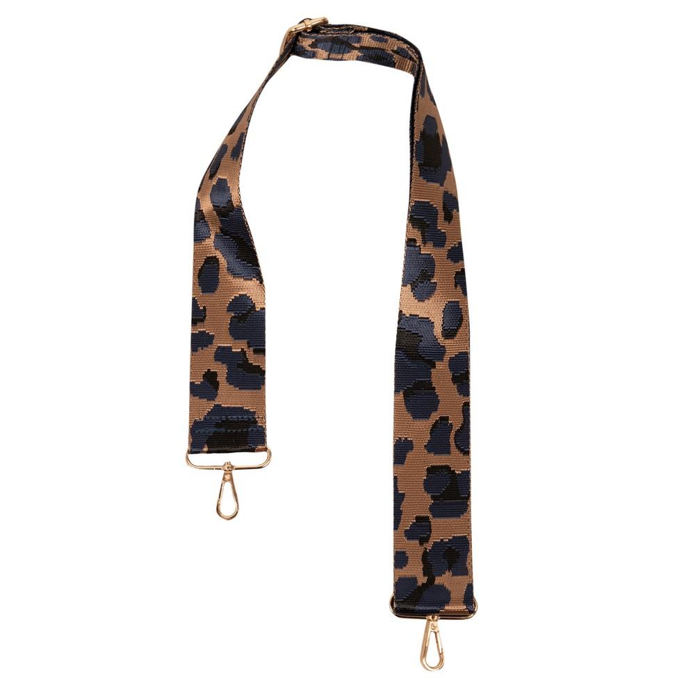 Kris-Ana Greta Bag Strap Cheetah Navy Tan