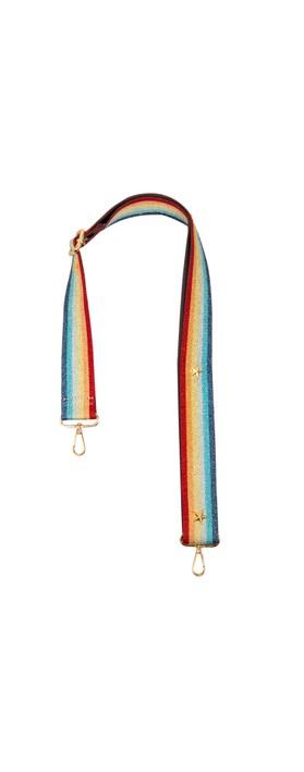 Kris-Ana Greta Bag Strap Rainbow Gold Star