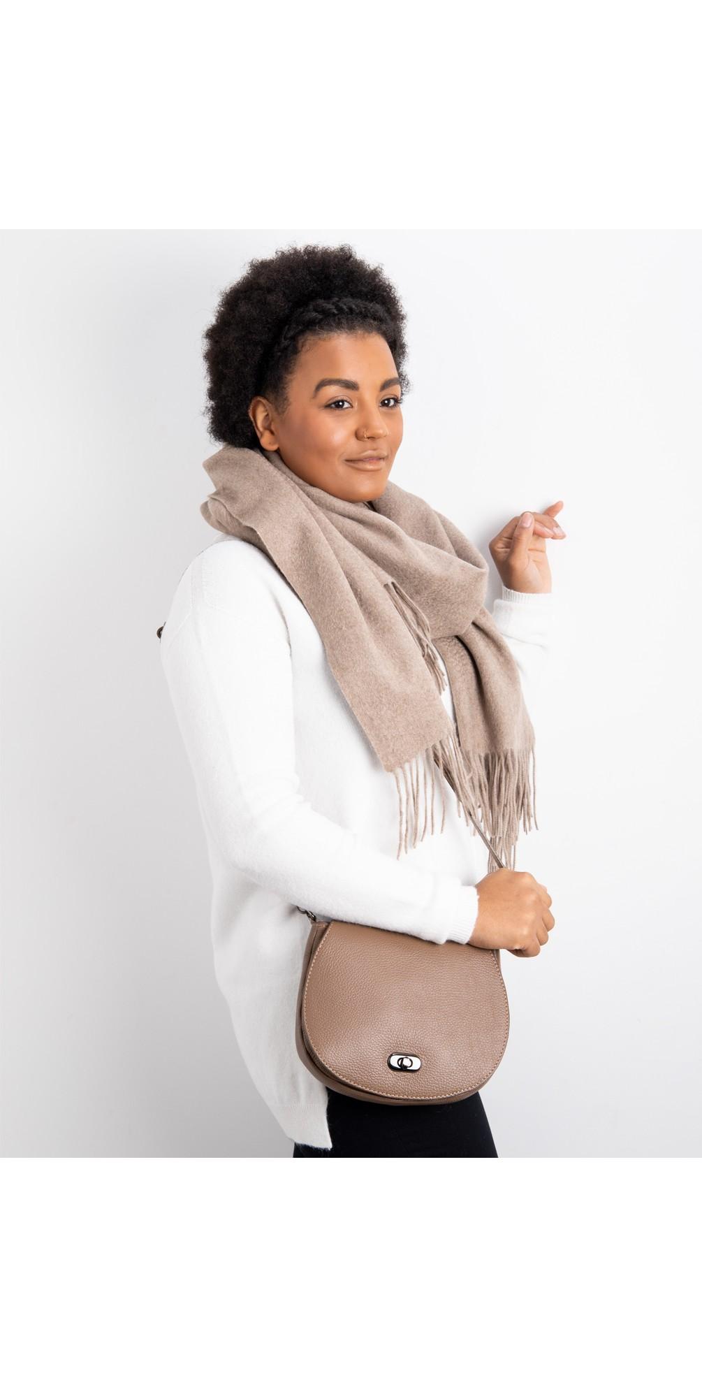 Amber Leather Shoulder bag main image