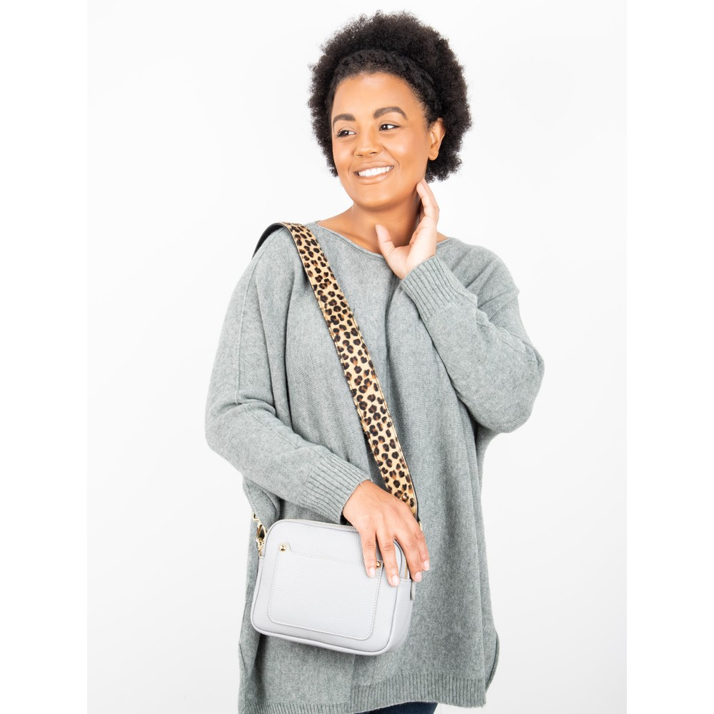 Gemini Label Bags Carrie Cross Body bag Light Grey
