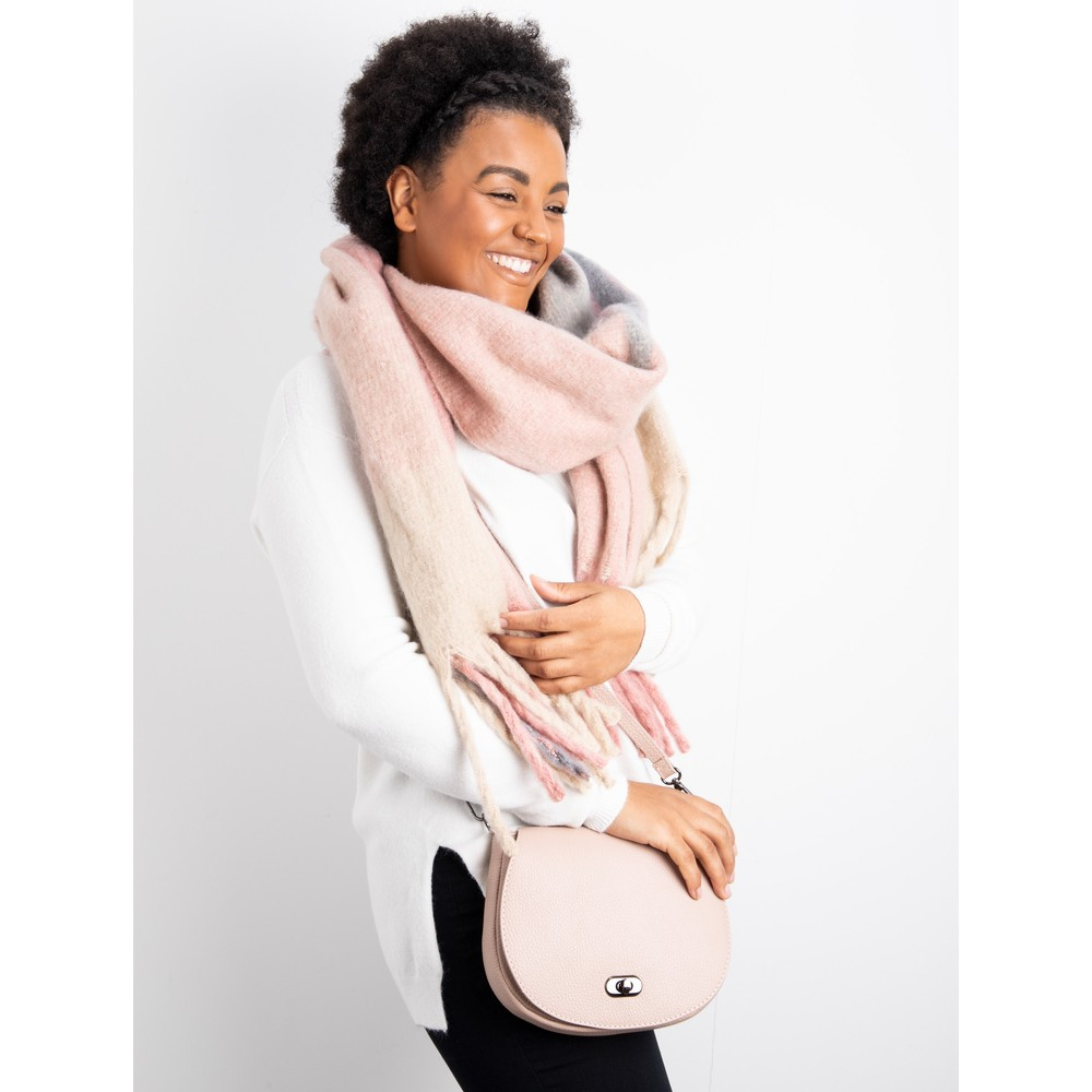 Gemini Label Accessories Kimber Supersoft Check Scarf Pink Check