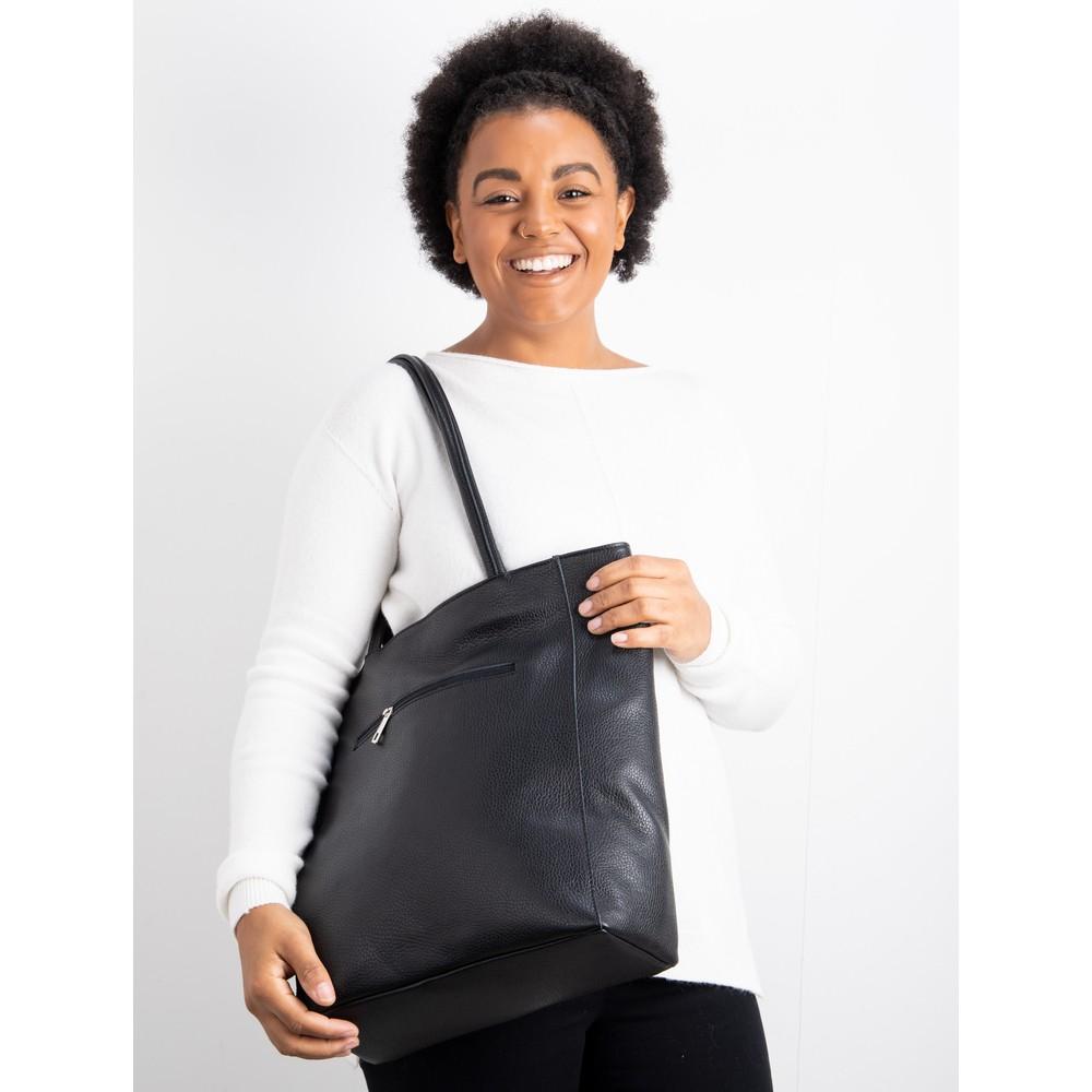 Gemini Label Bags Turin Tote Bag Black