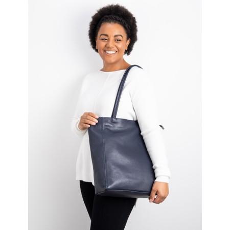 Gemini Label Bags Turin Tote Bag - Blue