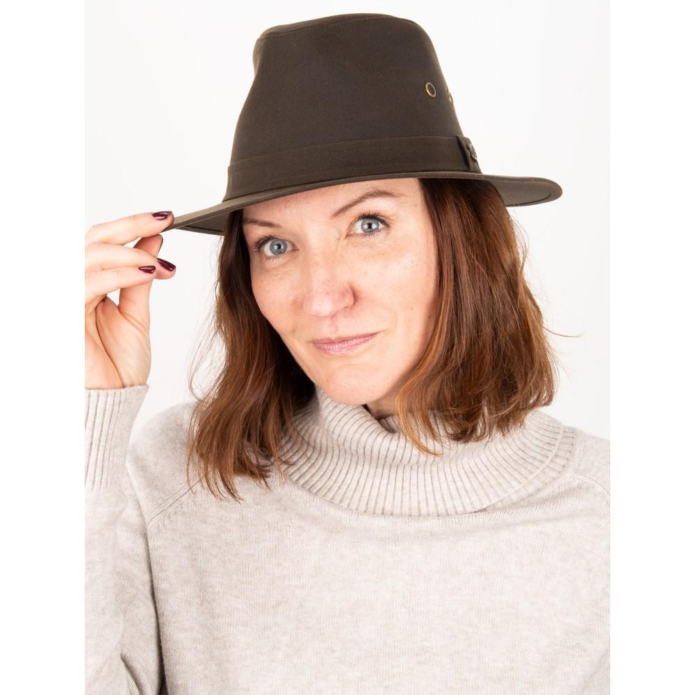 Failsworth Drifter Wax Hat  Olive