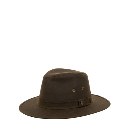 Failsworth Drifter Wax Hat  - Green