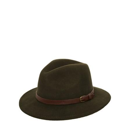 Failsworth Adventurer Wool Felt Fedora Hat - Green