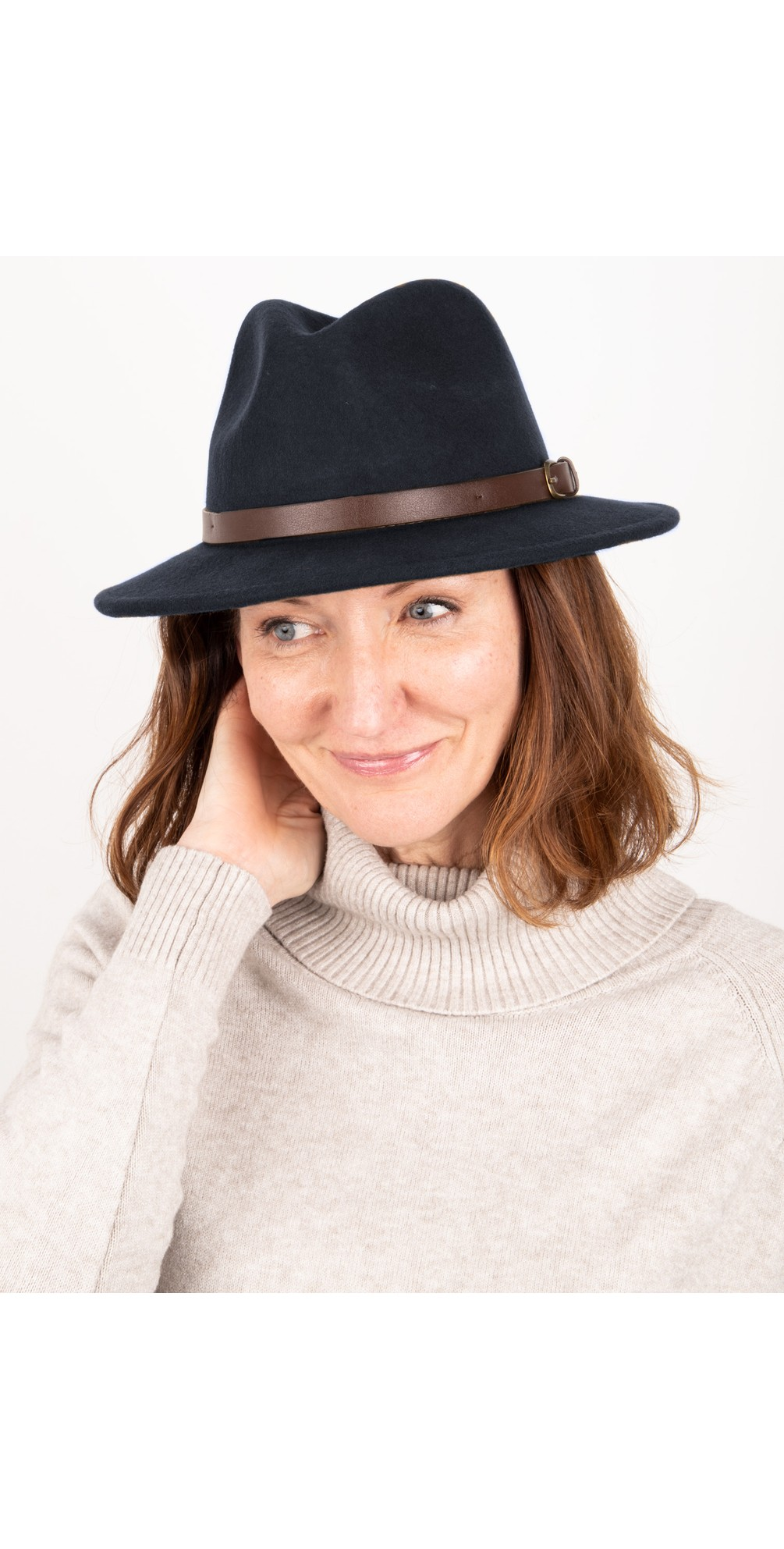 Adventurer Wool Felt Fedora Hat main image