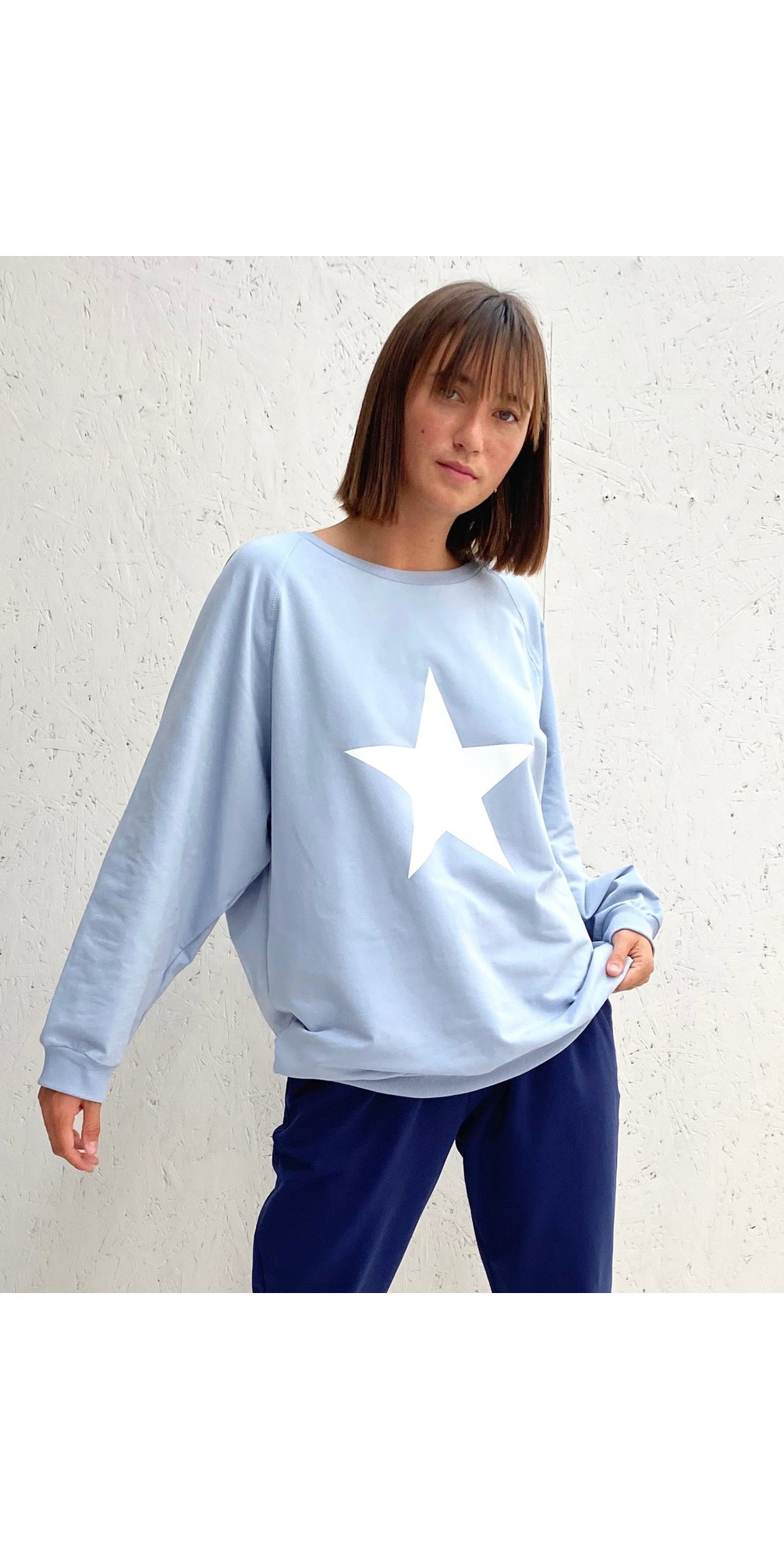 Nancy Star Oversized Comfy Sweatshirt main image