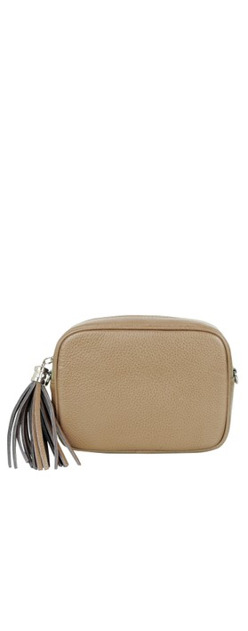 Gemini Label Bags Connie Cross Body Bag Dark Taupe
