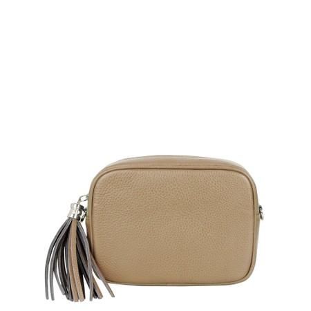 Gemini Label Bags Connie Cross Body Bag - Beige