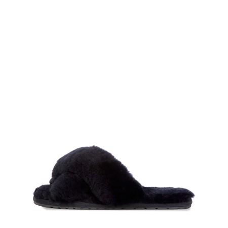 EMU Australia Mayberry Sheepskin Slider Slipper - Black