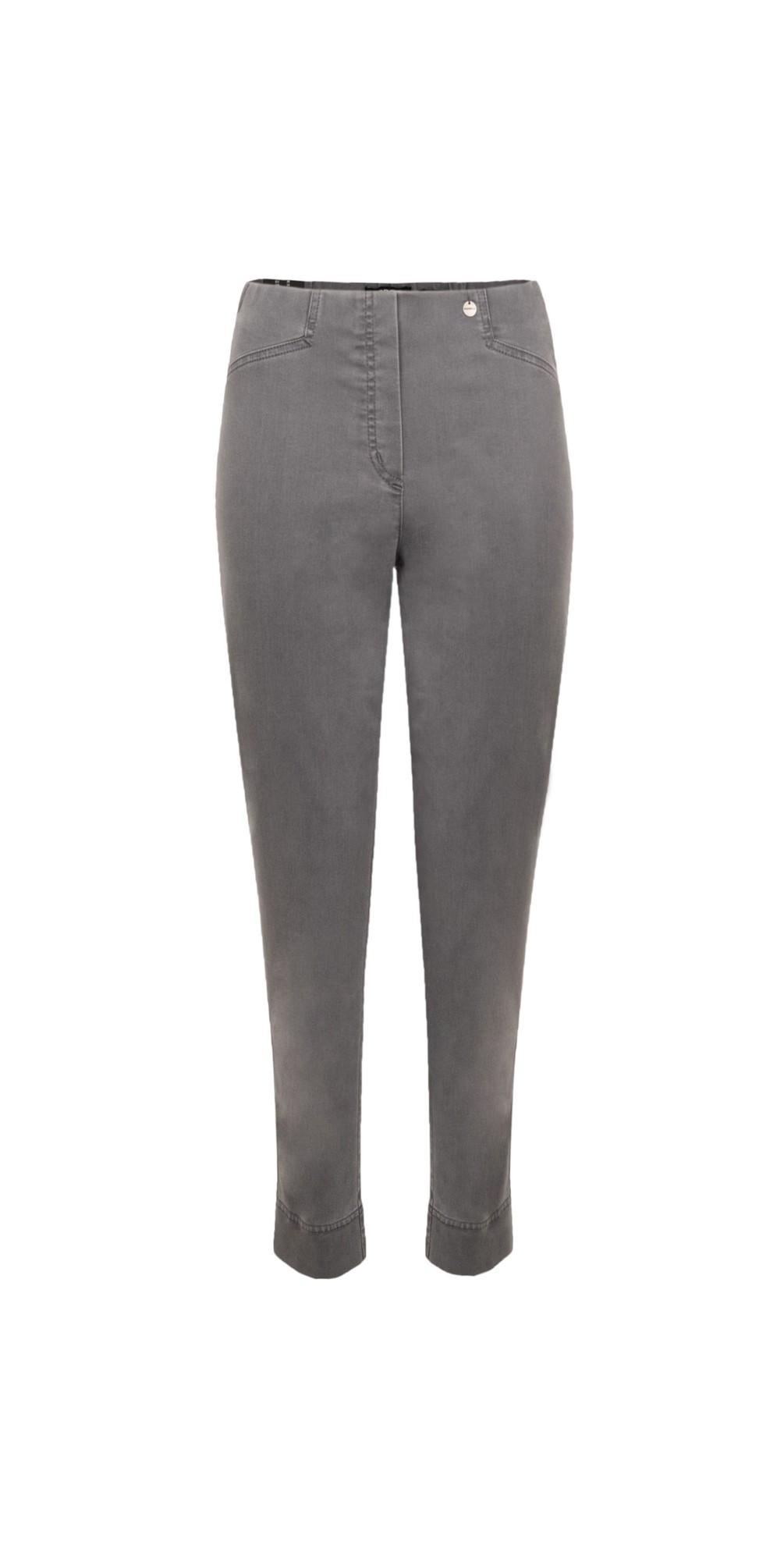 Rose 09 Dark Grey Ankle Length Slimfit Jean main image