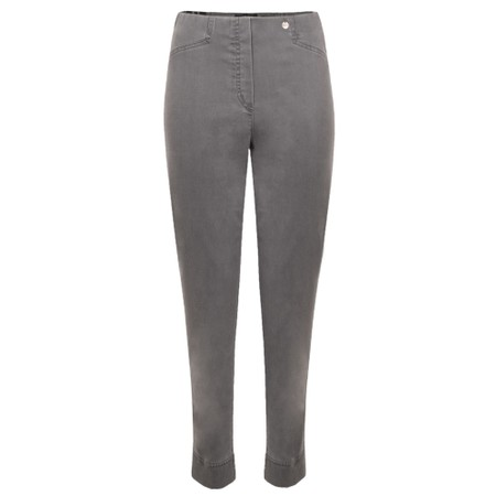 Robell Rose 09 Dark Grey Ankle Length Slimfit Jean - Grey