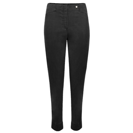 Robell Rose 09 Black Ankle Length Slimfit Jean - Black