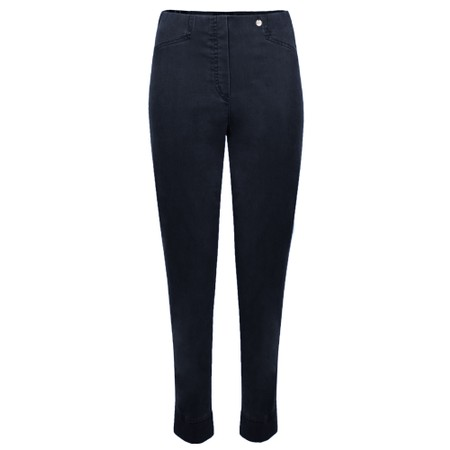 Robell Rose 09 Navy Ankle Length Slimfit Jean - Blue
