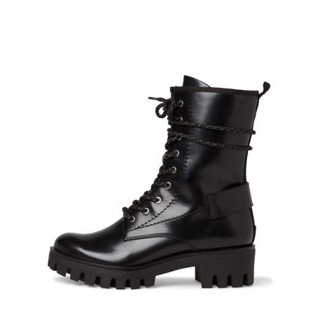 Tamaris  Brush Biker Style Boot - Black