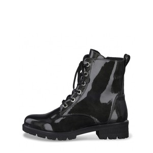 Tamaris  Major Patent Military Style Ankle Boot