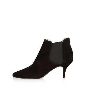 Gemini Label Shoes Ilirio Suede Kitten Heel Ankle Boot