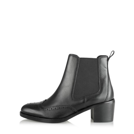 Vanilla Moon Shoes Francy Leather Chelsea Boot - Black