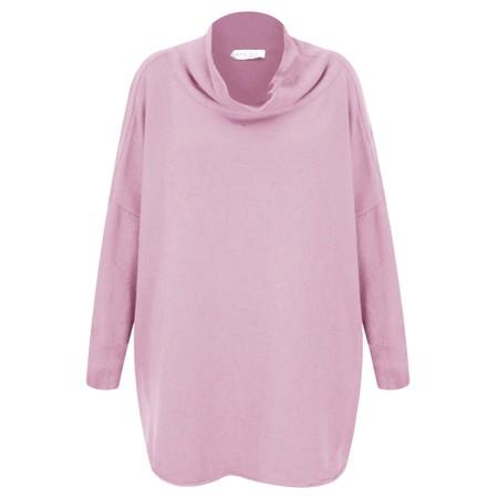 Amazing Woman  Vera Oversized Knit Jumper - Pink