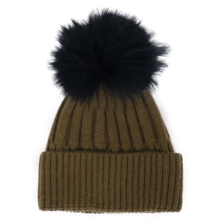 Bitz of Glitz Jessie Pom Pom Hat  - Green