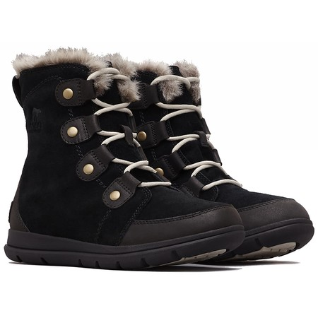 Sorel Explorer Joan Waterproof Boot - Black
