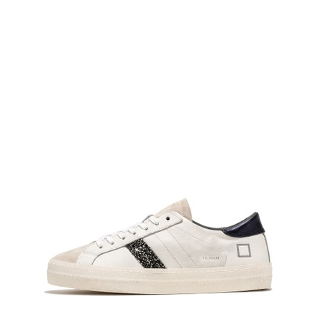 D.A.T.E Hill Low Glam Low Top Sneaker - White
