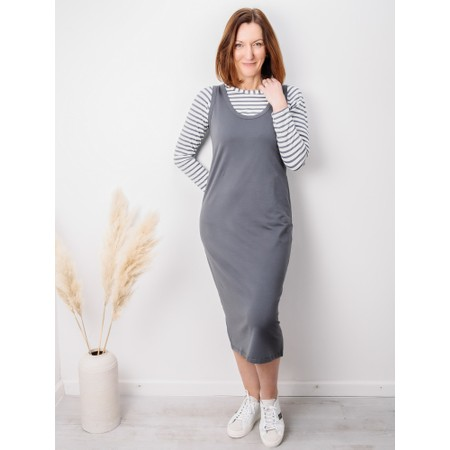 Chalk Rachel Dress - Black