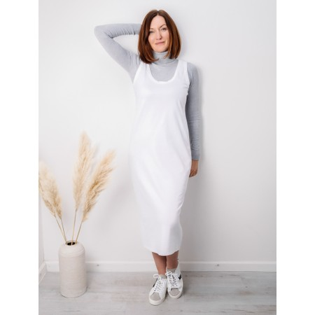 Amazing Woman Britt Fineknit Fitted Polo Neck Jumper - Grey