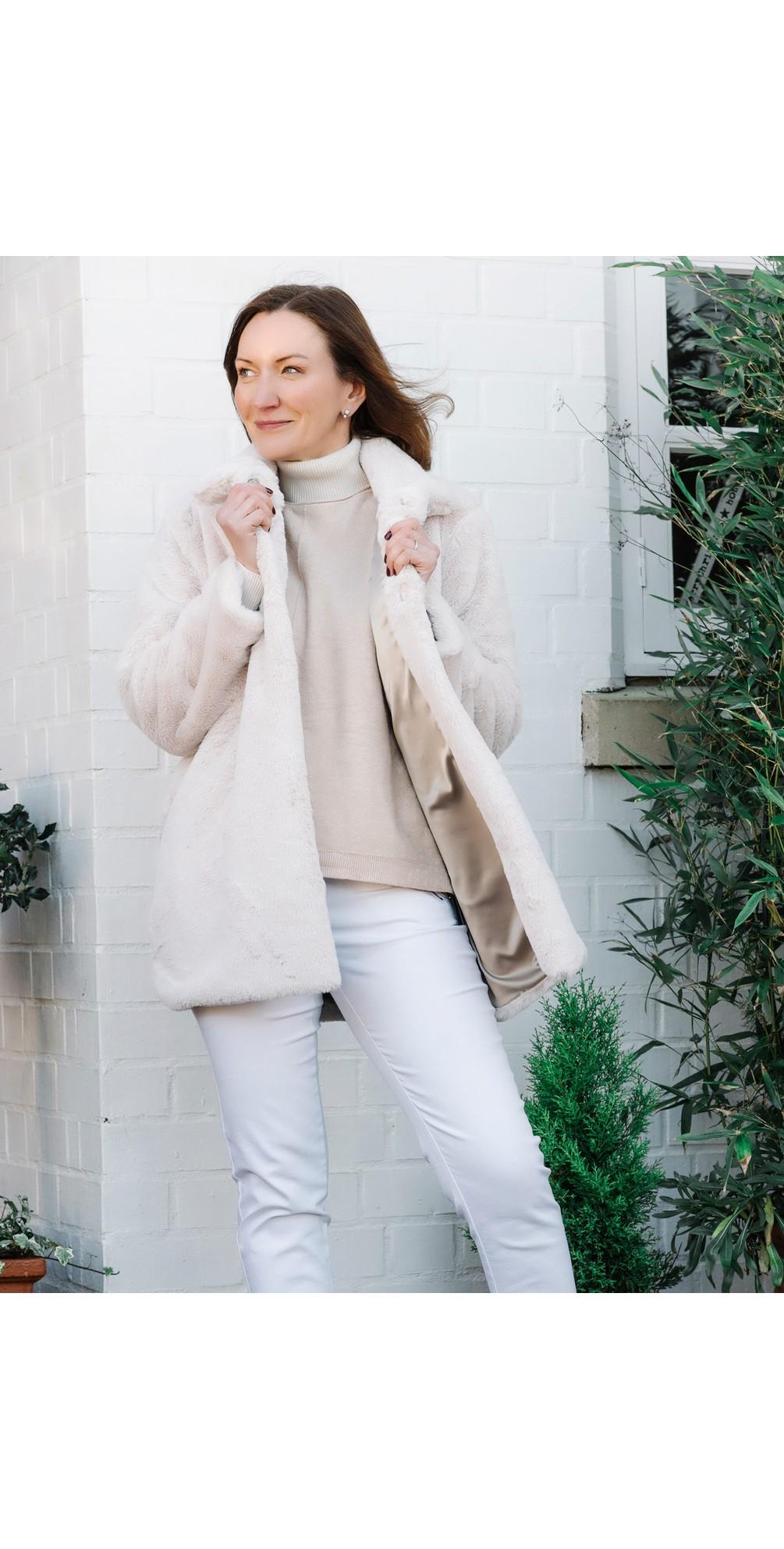 Cosy Faux Fur Jacket main image