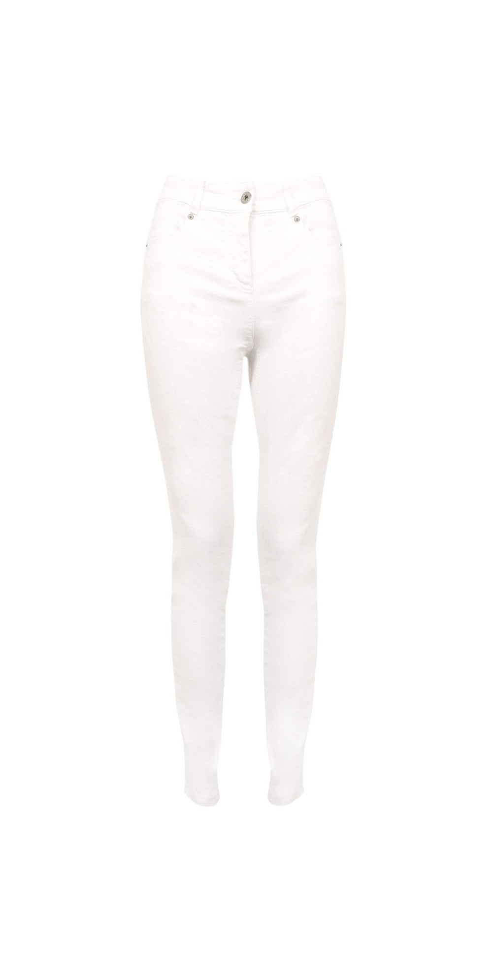 Star 09 WhitePower Stretch Cropped Skinny jean main image