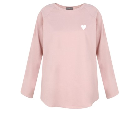 Chalk Tasha Heart Top - Pink