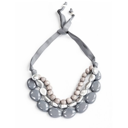 Rosanna Barcelona Praga Resina Necklace  - Grey