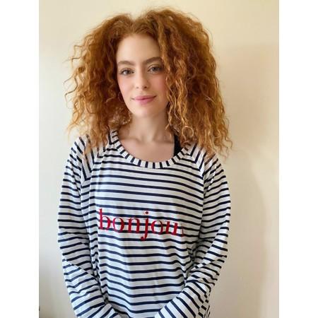 Chalk Robyn Stripe Bonjour Top - Multicoloured