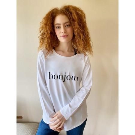 Chalk Tasha Bonjour Top - Gemini Exclusive ! - Black
