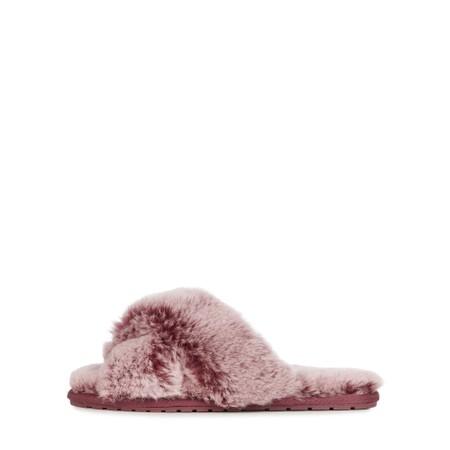 EMU Australia Mayberry Frost Sheepskin Slider Slipper - Orange