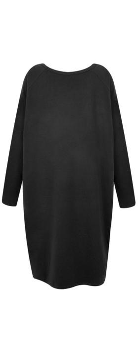 Chalk Brody Star Dress Black / Black
