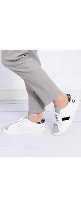 D.A.T.E Hill Low Pong Low Top Sneaker White / Black