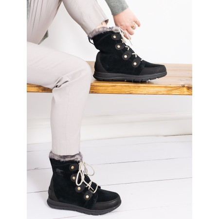 Sorel Explorer Joan Waterproof Boot - Black